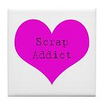 Scrapbooker - Scrap Adict Tile Coaster