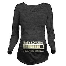 Baby Loading Pregnant Long Sleeve Maternity T-Shir