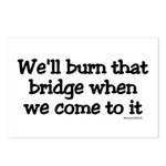 Burning Bridges Postcards (Package of 8)