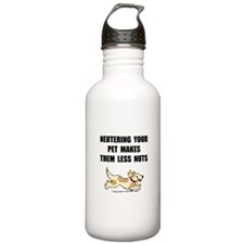 Neutering Nuts Dog Water Bottle