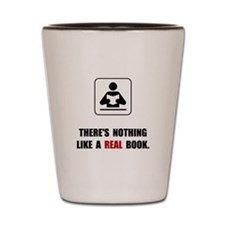 Real Book Shot Glass