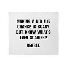 Regret Throw Blanket
