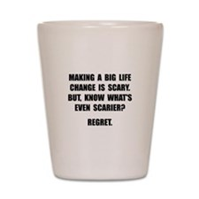 Regret Shot Glass