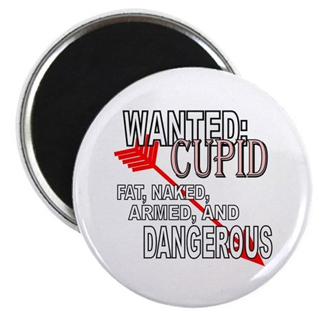 "Wanted: Cupid 2.25"" Magnet (10 pack)"