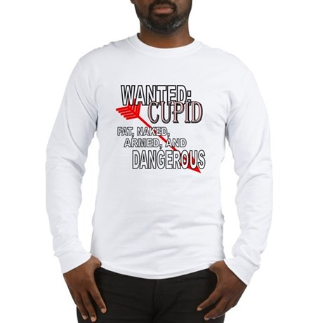 Wanted: Cupid Long Sleeve T-Shirt