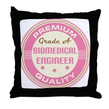 Premium quality biomedical engineer Throw Pillow