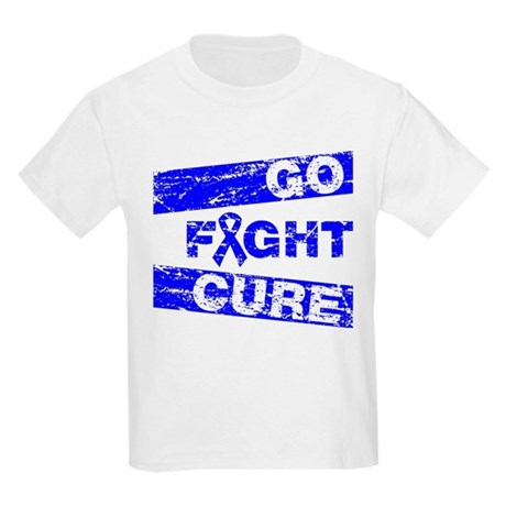 Rectal Cancer Go Fight Cure Kids Light T-Shirt