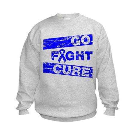 Rectal Cancer Go Fight Cure Kids Sweatshirt