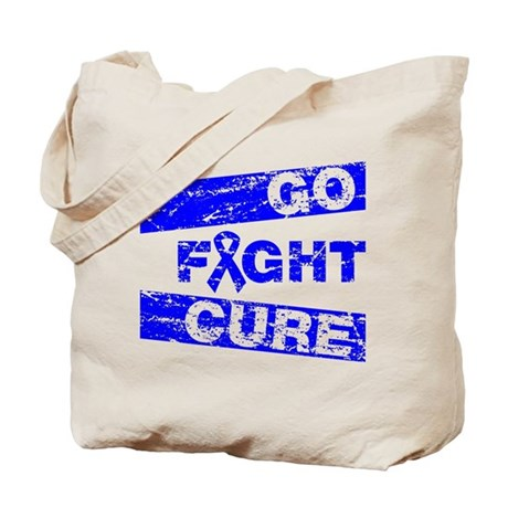 Rectal Cancer Go Fight Cure Tote Bag