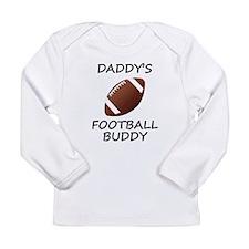 Daddys Football Buddy Long Sleeve T-Shirt