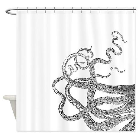 kraken tentacles shower curtain by admin cp49789583