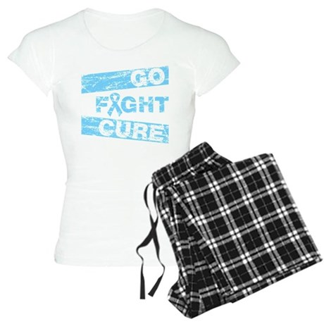 Prostate Cancer Go Fight Cure Women's Light Pajama