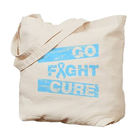 Prostate Cancer Go Fight Cure Tote Bag