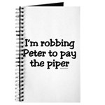 Robbing Peter Journal