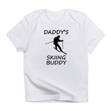 Daddys Skiing Buddy Infant T-Shirt