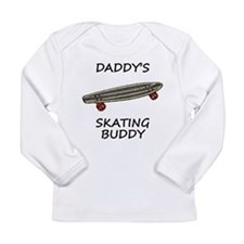Daddys Skating Buddy Long Sleeve T-Shirt