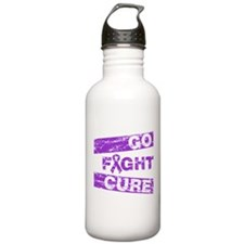 Pancreatic Cancer Go Fight Cure Water Bottle