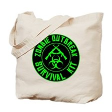 Zombie Outbreak Survival Kit Tote Bag