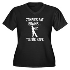 Zombies Eat Brains Plus Size T-Shirt