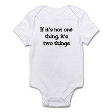 Two Things Infant Bodysuit