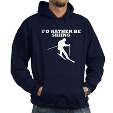 Id Rather Be Skiing Hoody