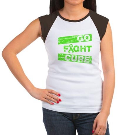 Non-Hodgkins Lymphoma Go Fight Cure Women's Cap Sl