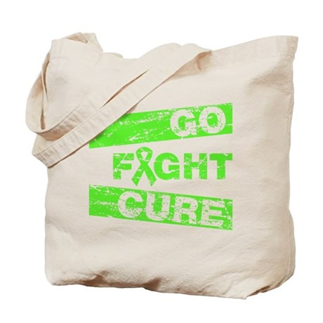 Non-Hodgkins Lymphoma Go Fight Cure Tote Bag