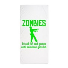 Zombies Beach Towel