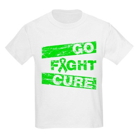 Muscular Dystrophy Go Fight Cure Kids Light T-Shir