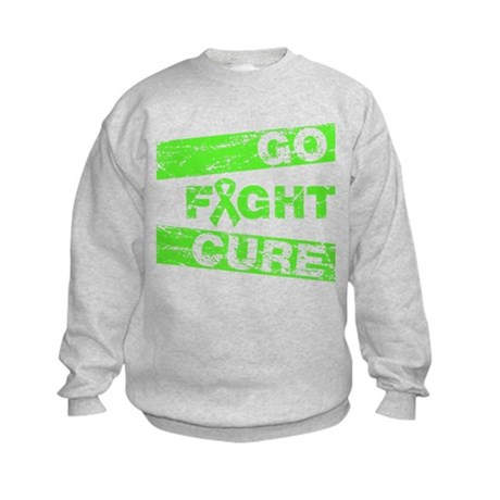 Muscular Dystrophy Go Fight Cure Kids Sweatshirt
