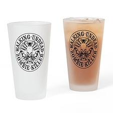 Zombie Killer Drinking Glass