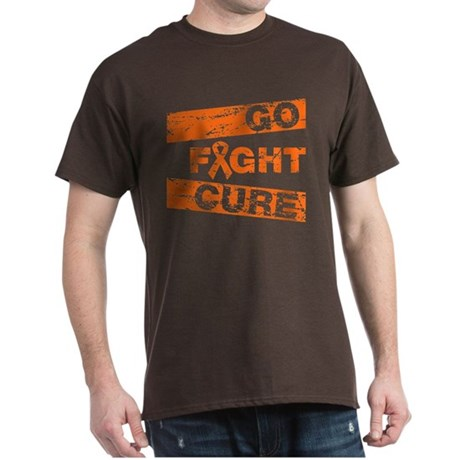 Multiple Sclerosis Go Fight Cure Dark T-Shirt