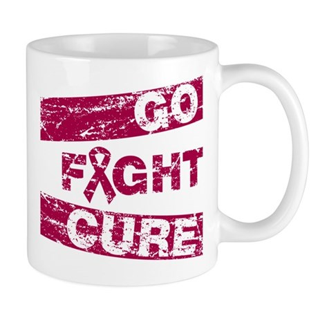 Multiple Myeloma Go Fight Cure Mug