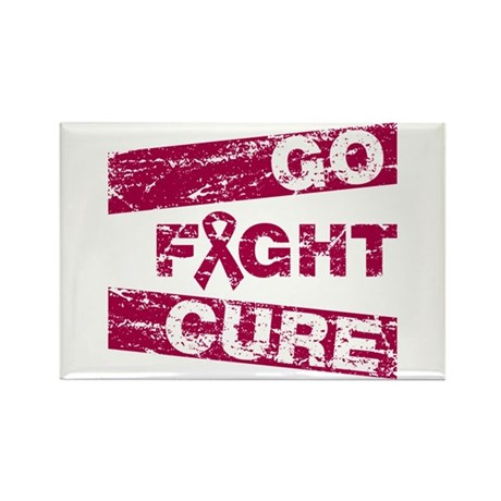 Multiple Myeloma Go Fight Cure Rectangle Magnet
