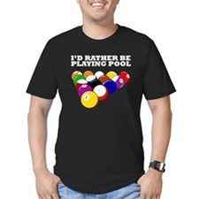 Id Rather Be Playing Pool T-Shirt
