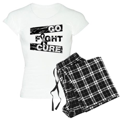 Melanoma Go Fight Cure Women's Light Pajamas