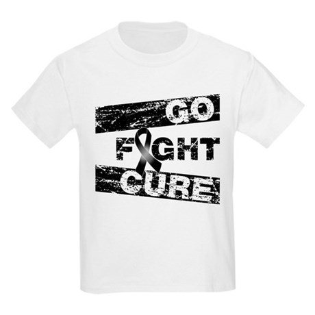 Melanoma Go Fight Cure Kids Light T-Shirt
