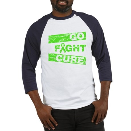 Lymphoma Go Fight Cure Baseball Jersey