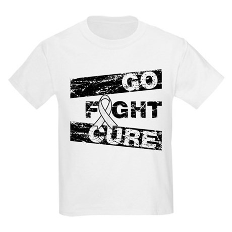 Lung Cancer Go Fight Cure Kids Light T-Shirt