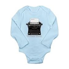 Writers Block-Typewriter Body Suit