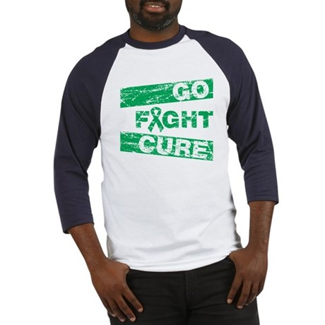 Liver Cancer Go Fight Cure Baseball Jersey