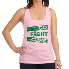 Liver Cancer Go Fight Cure Racerback Tank Top