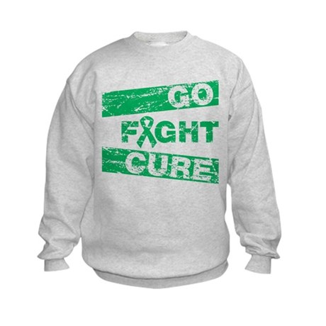 Liver Cancer Go Fight Cure Kids Sweatshirt