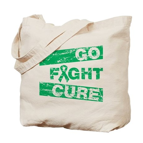 Liver Cancer Go Fight Cure Tote Bag