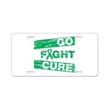 Liver Cancer Go Fight Cure Aluminum License Plate
