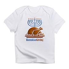 Turkey Menorah Infant T-Shirt