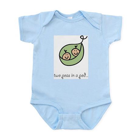 Two Peas in a Pod Infant Bodysuit