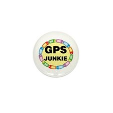 GPS Junkie Mini Button (10 pack)