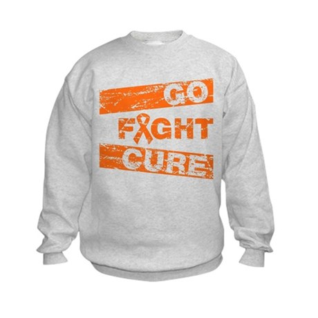 Leukemia Go Fight Cure Kids Sweatshirt