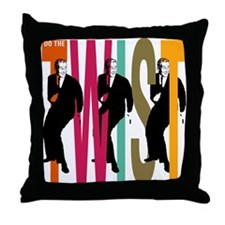Do The Twist Throw Pillow